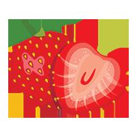 600 tonnes of strawberries per year