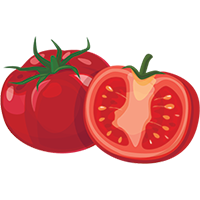 2,700 tonnes of tomatoes per year