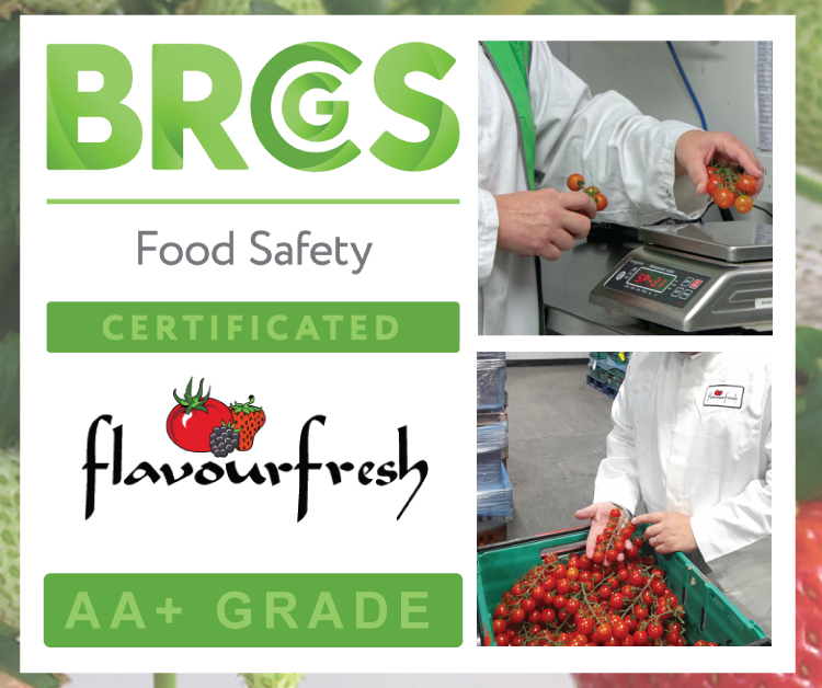 BRCGS AA+ Grade Food Safety Achieved